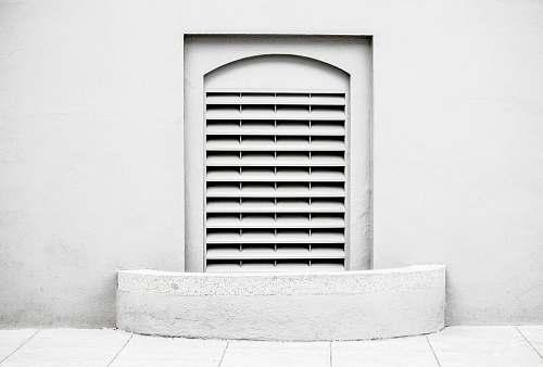white white door louver shutter