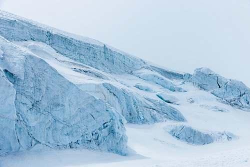 glacier glaciers during daytime ice