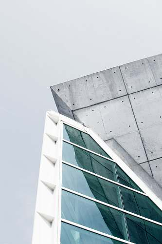 grey gray and white concrete building architecture