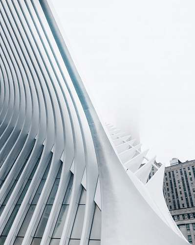 new york structural view of building architecture
