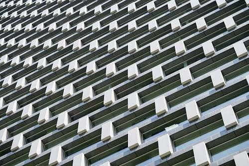pattern white concrete building balcony wallpaper architecture