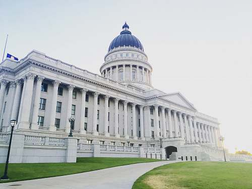 architecture white mansion utah state capitol