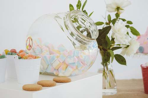 bowl clear glass candy jar with jelly candies nea clear glass vase food