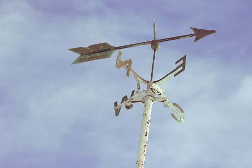 weather windmill pointing east breeze