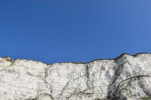 grey beige mountain white cliffs of dover