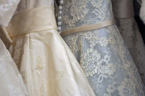 wedding white and beige floral textiles lace