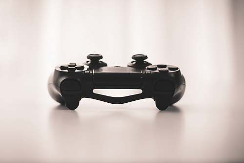 photo gaming black wireless game controller controller free for commercial use images