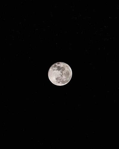 moon full moon during nighttime night