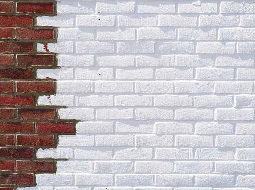 photo brick white and brown brick wall background free for commercial use images