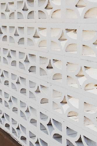 rug white concrete wall portland