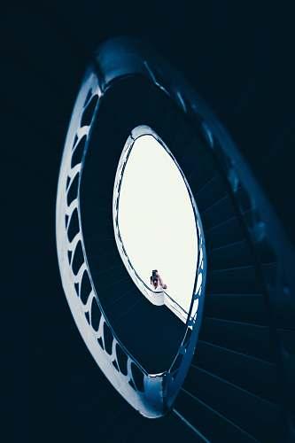 person woman wearing white dress in stair shiraz
