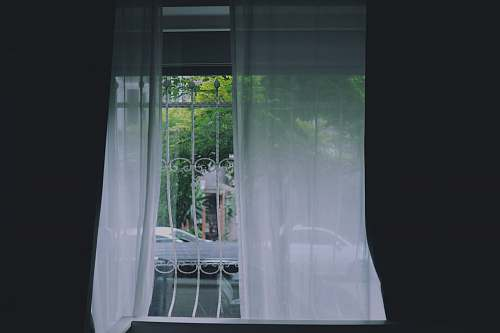 curtains white curtain on white metal window flora