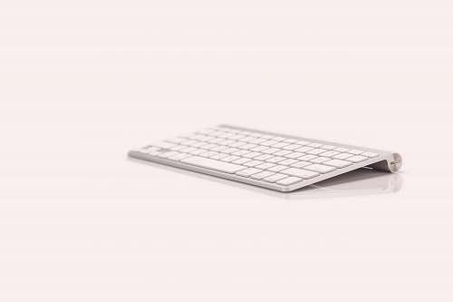 electronics Apple wireless keyboard 1 against white background apple