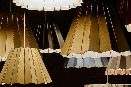 photo lampshade brown wooden pendant lamps display free for commercial use images
