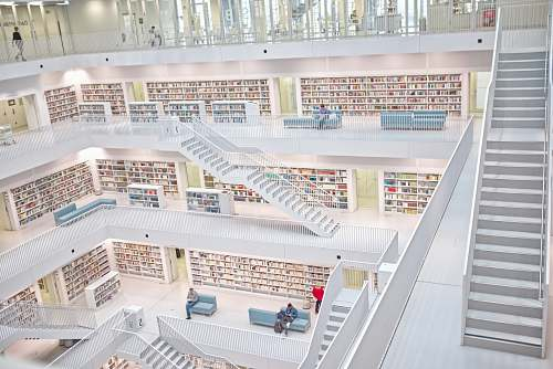 book Library building indoors