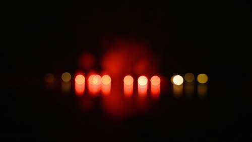 candle red and yellow bokeh photography wildon