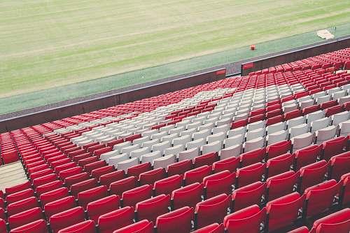 soccer empty sports stadium football