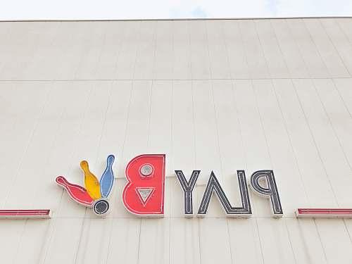 symbol Playboy bowling building trademark