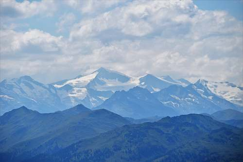 nature landscape photograph of mountain ranges outdoors