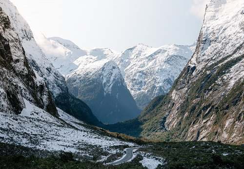 nature landscape photography of snowy mountain snow