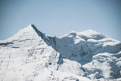 nature landscape photography snowy mountain glacier