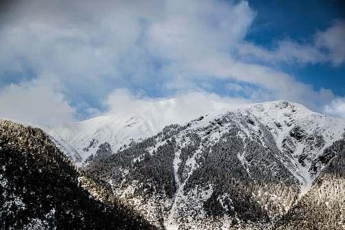 snow white snow on mountains mountains