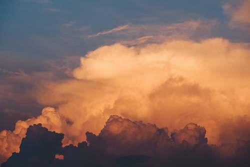 sky cloudy sky cloud
