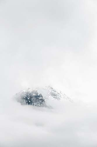 outdoors icy mountain scenery mountain