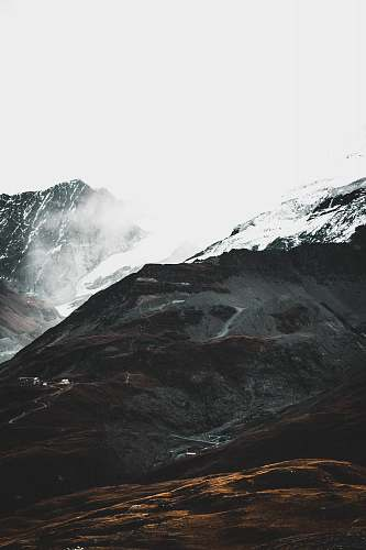 mountain landscape photography of snowy mountain alps