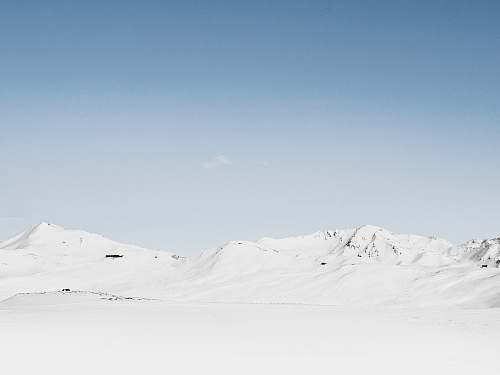 mountain photography of snow covered mountain at daytime landscape