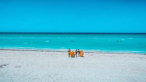 sea sea during daytime water
