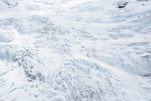mountain snow field photograph new zealand