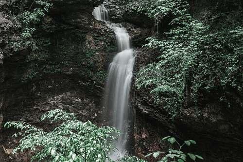 outdoors waterfalls water