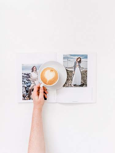 photo art person holding cup of coffee pottery free for commercial use images