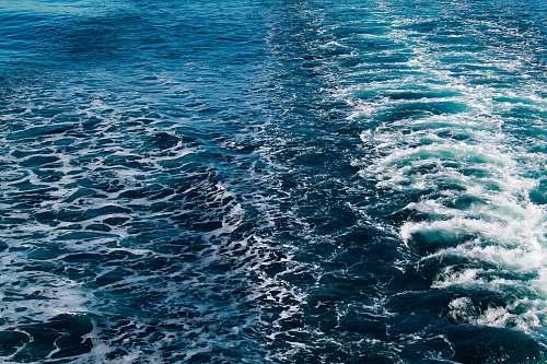 water blue ocean during daytime nature