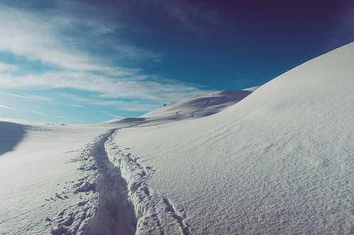 nature landscape photography of snow field winter