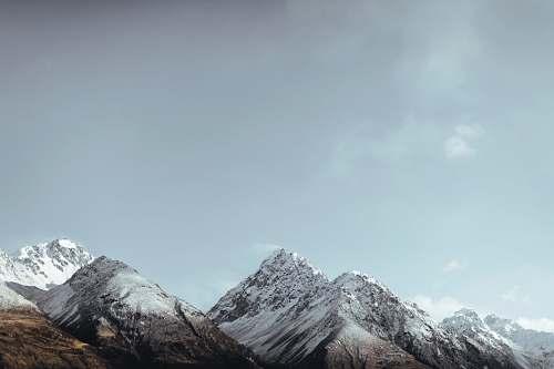 mountain photo of mountain alps new zealand
