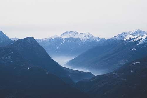 nature photo of three mountains mountain