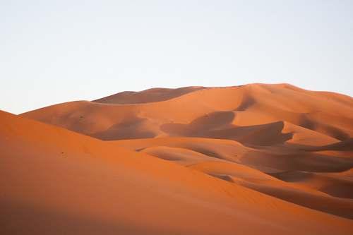 sand brown desrt nature