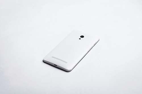white white smartphone phone