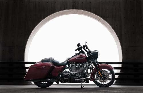 vehicle red touring motorcycle motorcycle