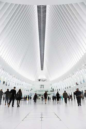 oculus group of people inside stadium new york