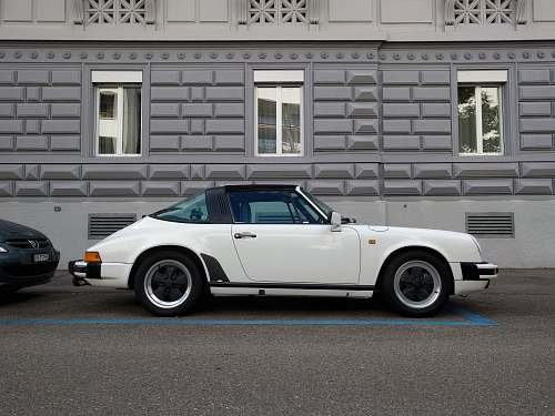 car white convertible coupe sports car