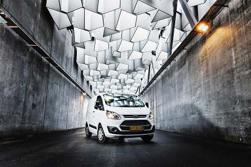 photo transportation white Ford car van free for commercial use images