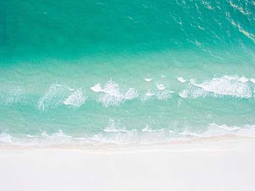 sea high waves at daytime ocean
