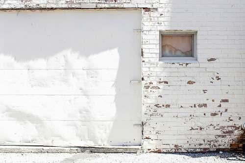 door closes white garage door garage door