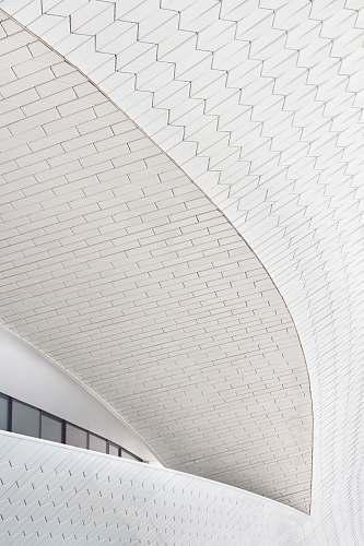 architecture white concrete ceiling grey