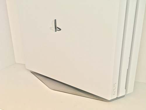 sony white Sony PS4 Pro game console console