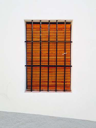 altea black metal window frame spain