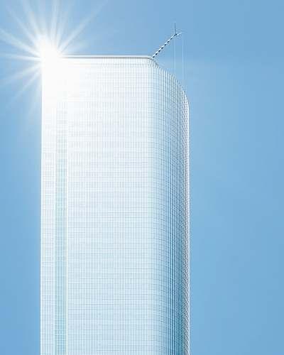 urban hi-rise building city